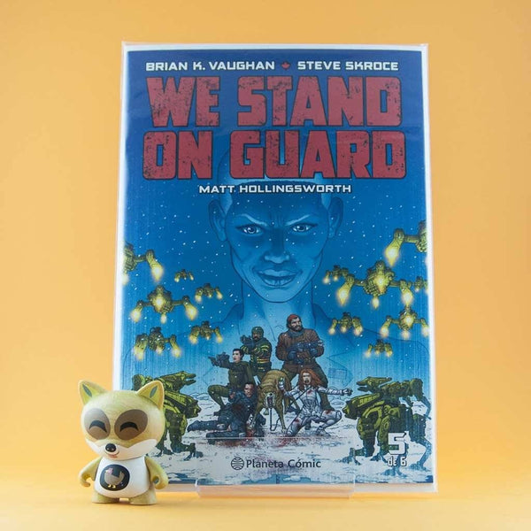 Cómic We Stand On Guard 5 de PLANETA | Wash Cómics
