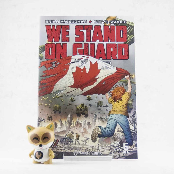 Cómic We Stand On Guard 6 de PLANETA | Wash Cómics