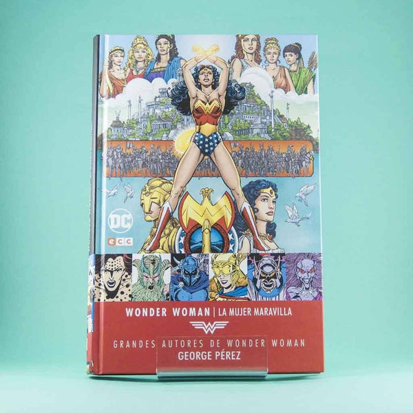 Cómic Grandes Autores Wonder Woman: George Pérez de ECC | Wash Cómics
