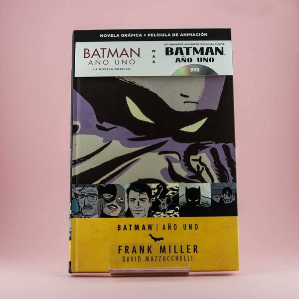 Cómic Batman Año 1 + DVD de ECC | Wash Cómics