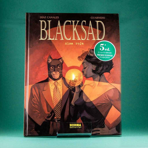 Cómic Blacksad 3: Alma Roja de NORMA | Wash Cómics
