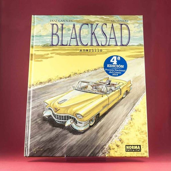 Cómic Blacksad 5: Amarillo | Premio Nacional de Cómic 2014 de NORMA | Wash Cómics