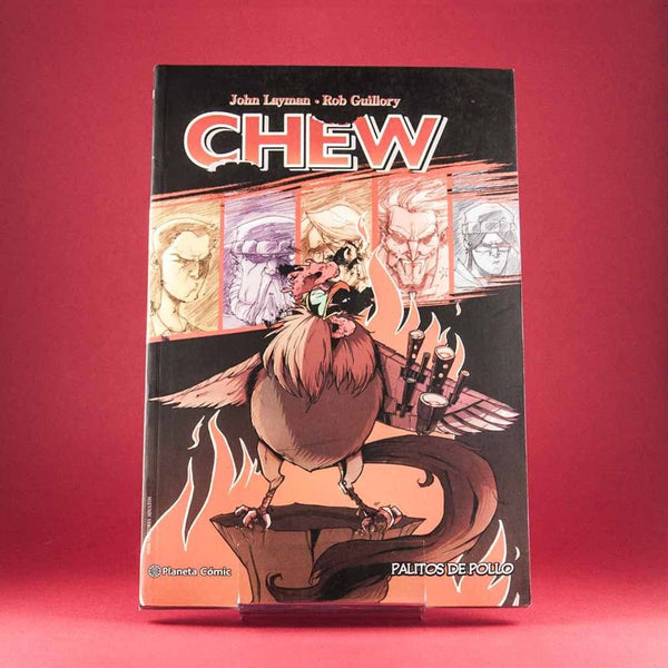 Cómic Chew 09: Palitos De Pollo de PLANETA | Wash Cómics