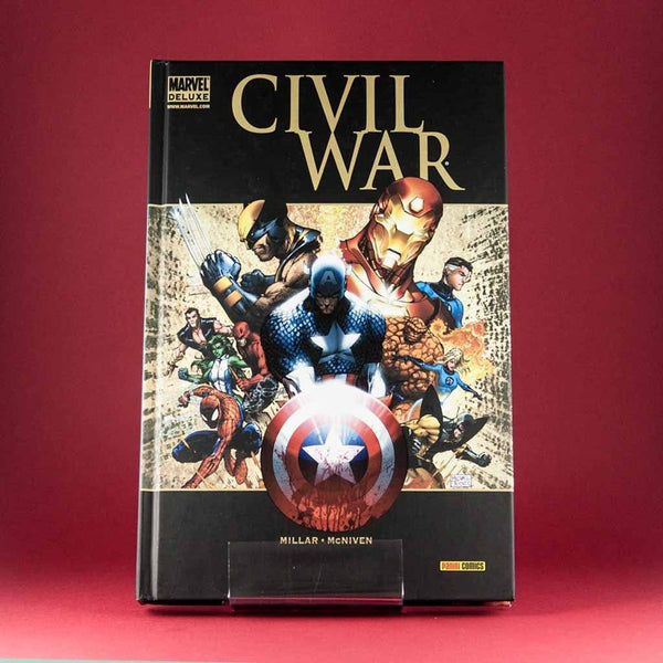 Cómic Civil War de PANINI | Wash Cómics