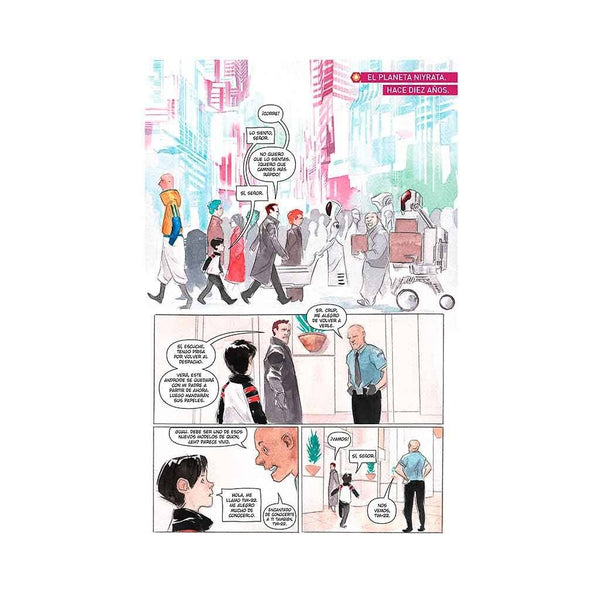 Cómic Descender 3 | Singularidades de AZETA DISTRIBUCIONES | Wash Cómics