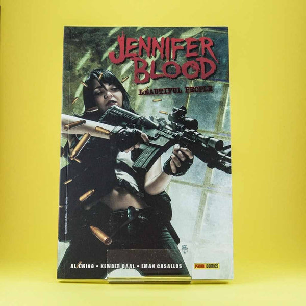 Cómic Jennifer Blood 2 de SD DISTRIBUCIONES | Wash Cómics