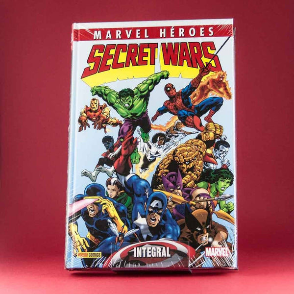 Secret Wars | Marvel Heroes | Americano | Wash Cómics