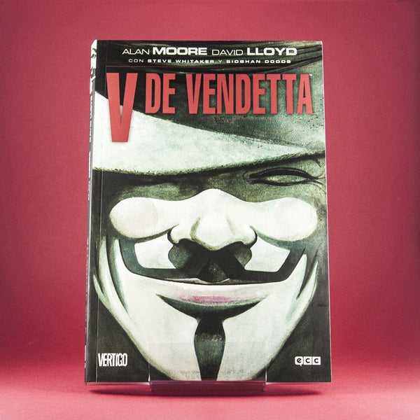 Cómic V de Vendetta de ECC | Wash Cómics