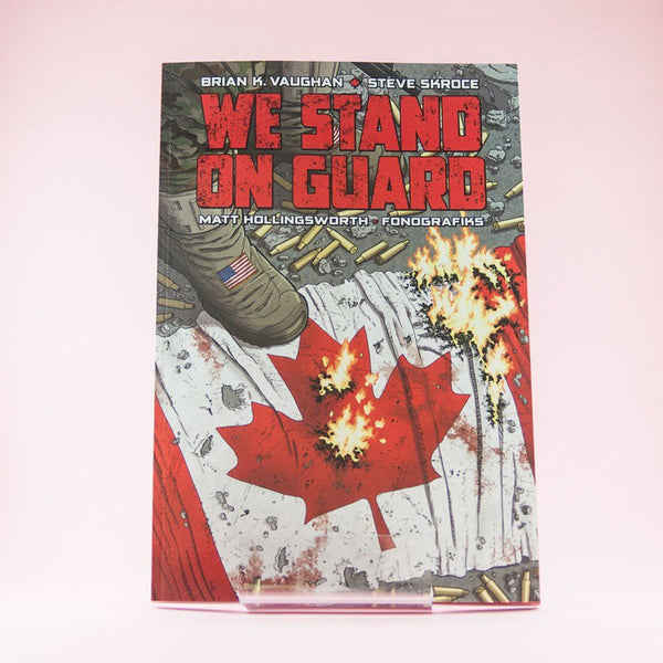 We Stand on Guard | Previews | Wash Cómics