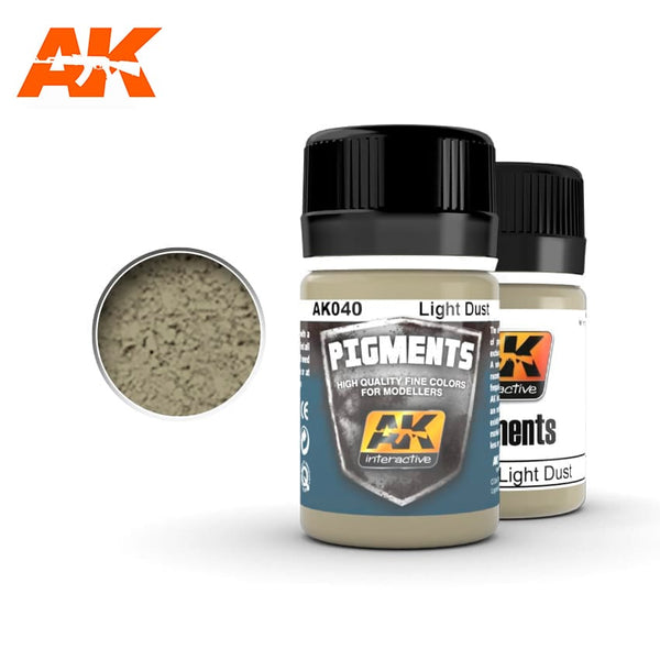 AK-Interactive AK040 Light Dust Pigment