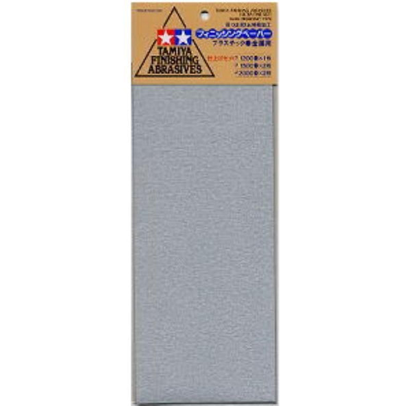 Tamiya 87024 Finishing Abrasives P1200/1500/2000