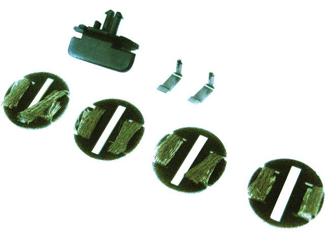 Scalextric C8312 Parts - Guide & Plates (4) - Start Cars
