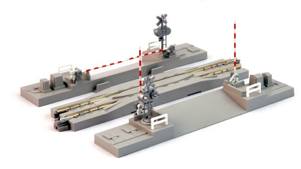 Kato 20-027 Unitrack Railroad Crossing 124mm