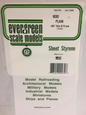 Evergreen 9030 Sheet - White - 0.75mm