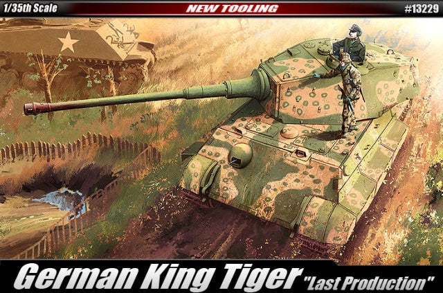 Academy 13229 German King Tiger Tank - Last Production