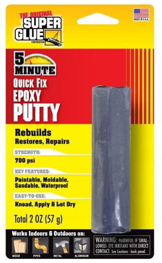 Super Glue 15400 Epoxy - Putty - 5 Minute