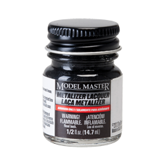 Model Master Metalizer Gunmetal Non Buffing