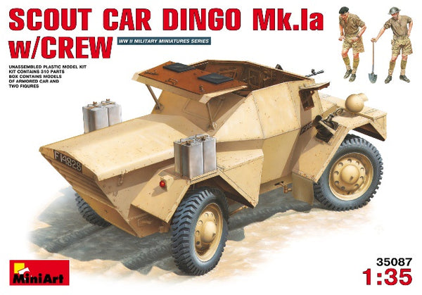 Miniart 35087 Scout Car Dingo Mk.1a with Crew