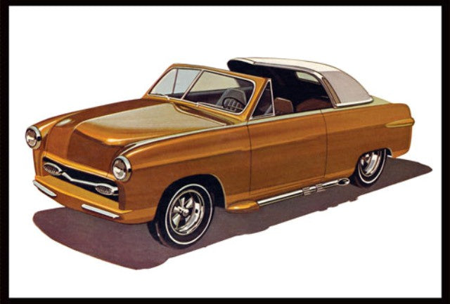 AMT 929 1950 Ford Convertible - Showboat