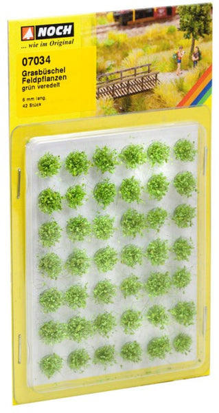 Noch 7034 Tufts - Grass - Field Plants - Light Green - XL