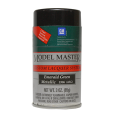 Model Master Emerald Green Metallic
