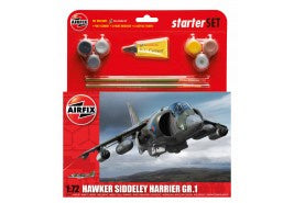 Airfix Hawker Harrier GR1 Starter Set 1:72
