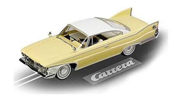 Carrera 132 Plymouth Fury 1960 Yellow/White