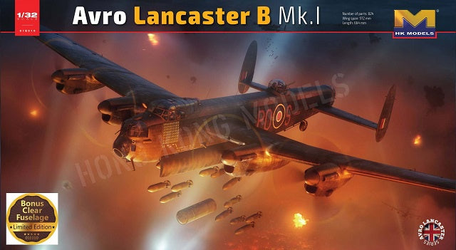 HK Models Lancaster B Mk.I - Limited Edition Clear