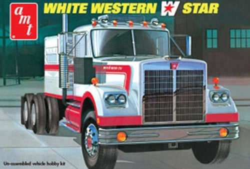 AMT 724 White Western Star Tractor Unit