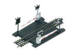 Hornby R645 Code 100 Track - Level Crossing - Single