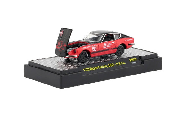 M2 Machines 1970 Nissan Fairlady Z432 – Coca Cola – Red