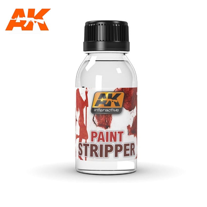 AK-Interactive AK186 Paint Stripper 100ml