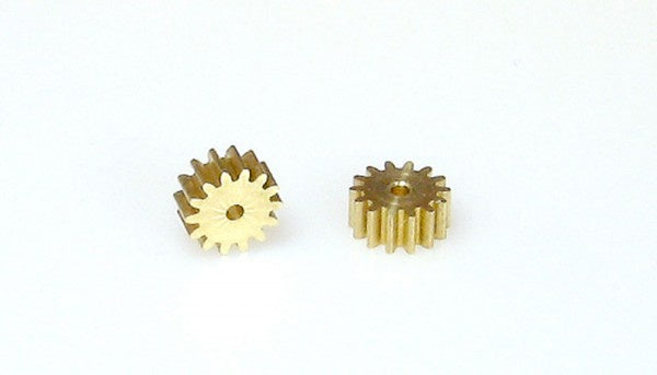 SRP 02334 Pinion Brass 1.5mm 14 Tooth (2)