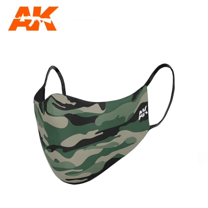 AK-Interactive AK9098 Classic Camouflage Face Mask I
