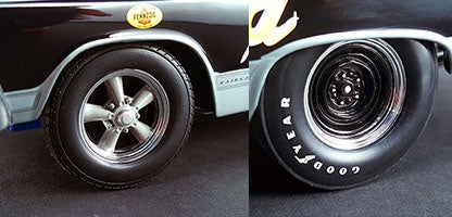 GMP 18856 Drag  Wheel & Tire Set