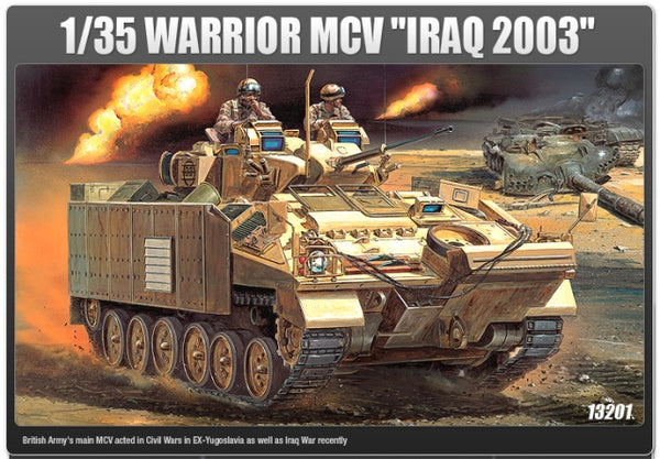 Academy 13201 Warrior MCV 'Iraq 2003'