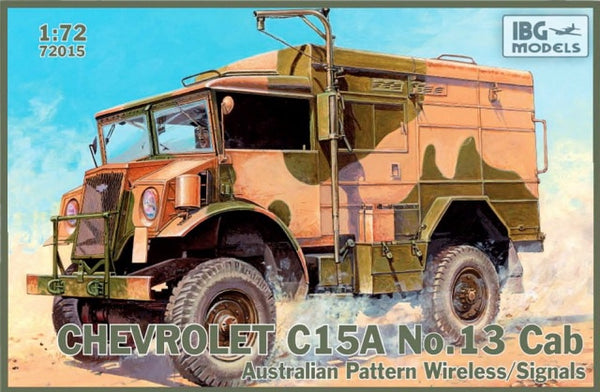 IBG 72015 Chevrolet C15A No. 13 Cab Australian Pattern Wireless/Signals
