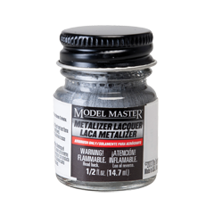 Model Master Metalizer Steel Non Buffing