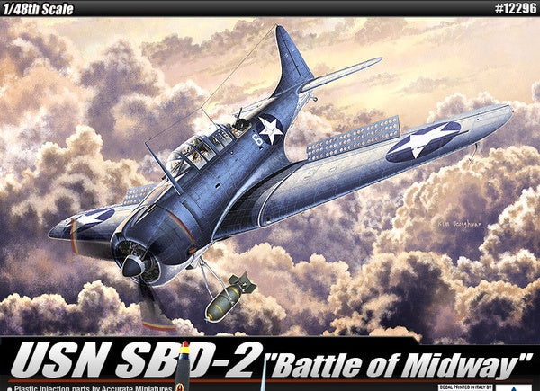 Academy 12296 USN SBD-2 'Battle of Midway'