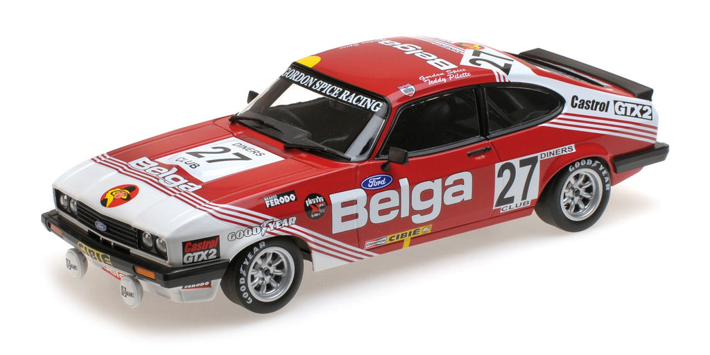 Minichamps 155788627 Ford Capri 3.0 Winner  24H SPA 1978