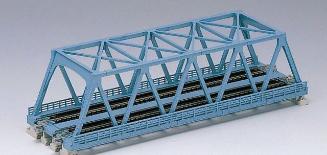 Kato 20-436 Unitrack Double Truss Bridge 248mm - Blue