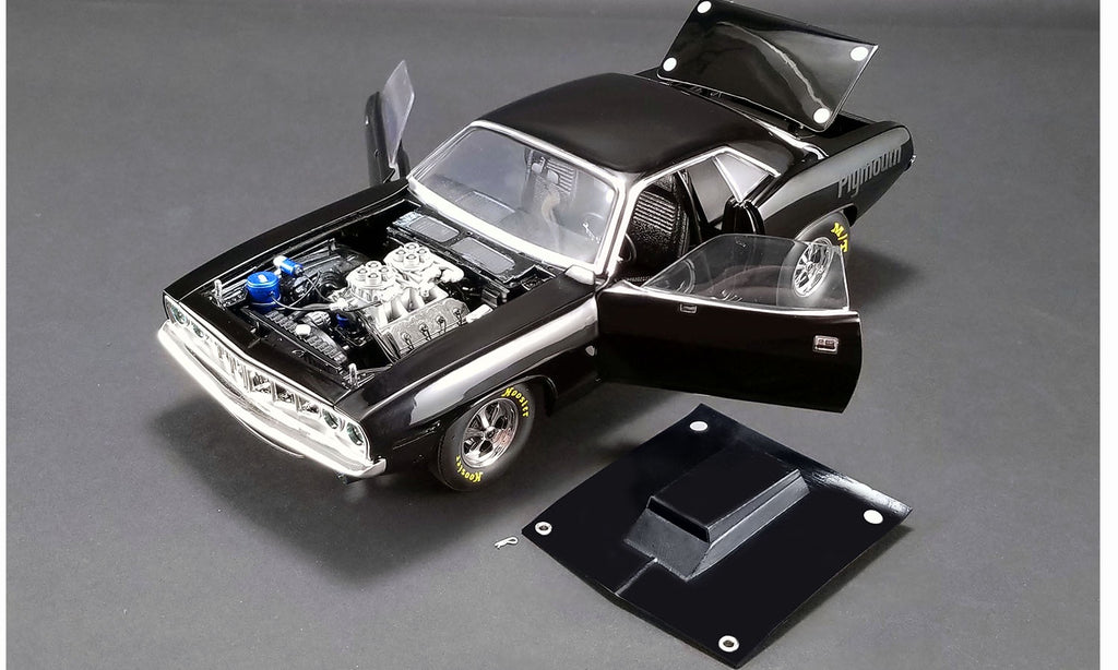 ACME 1971 Plymouth Drag Cuda - Black