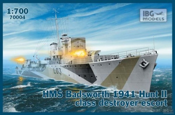 IBG 70004 HMS Badsworth 1941 Hunt II Class Destroyer Escort