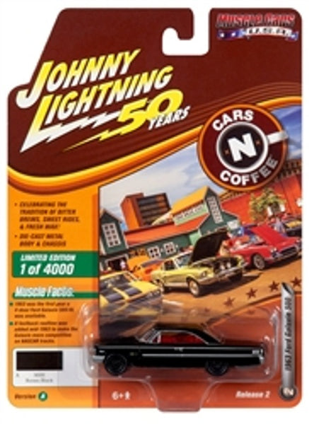 Johnny Lightning 50 Years Release 2 Version A Cars N Coffee 1963 Ford Galaxie 500