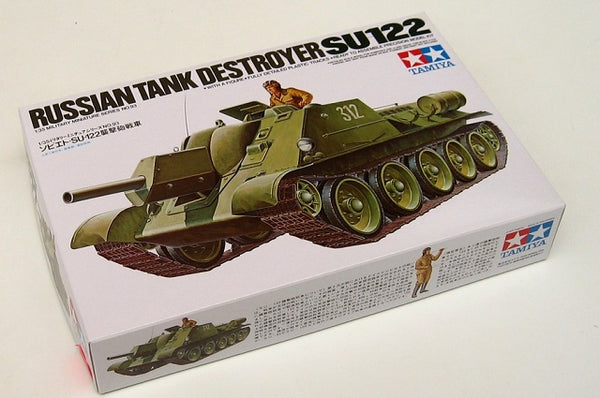 Tamiya 35093 Sussian SU-122 Tank Destroyer