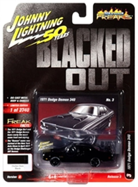 Johnny Lightning 50 Years Release 3 Version A Street Freaks 1971 Dodge Demon 340