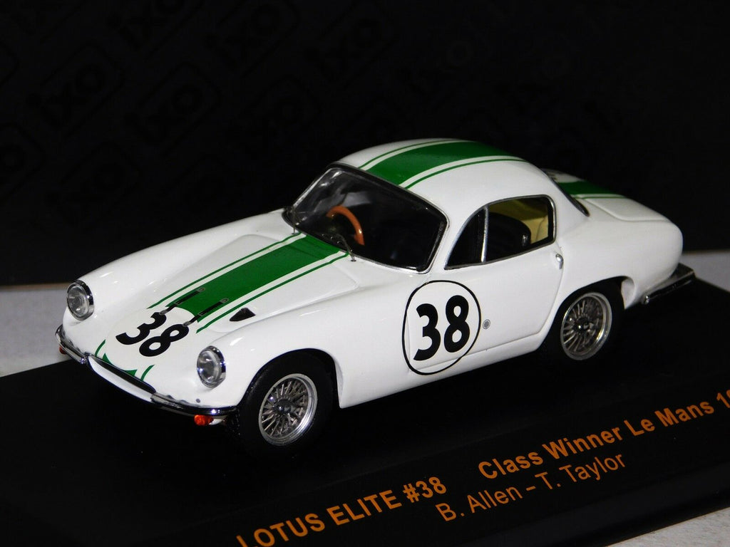IXO LMC074 Lotus Elite 1961 - Class Winner LeMans