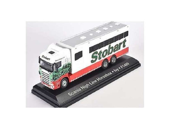 Atlas Stobart Scania Highline Horsebox