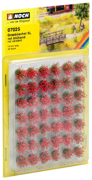 Noch 7025 Tufts - Grass - Field Plants - Flowering Red - XL