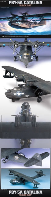 Academy 12487 Consolidated PBY-5A 'Black Cat'